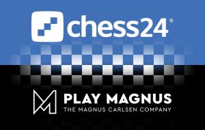 Play Magnus slår seg sammen med Chess24