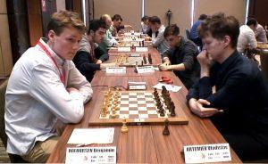 Haldorsen møtte Artemiev i første runde
