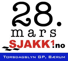 Sjakk1.no Torsdagslyn GP mars 2019