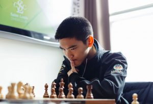 Jeffery Xiong vant Spring Chess Classic 2019