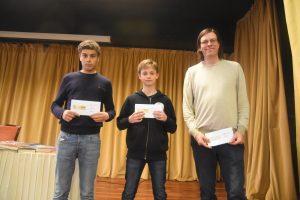 De tre beste i Elo-gruppen: Sidali, Dale og Lundberg