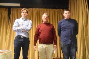 Tre av de fire beste i GM-B: Kaasen, Greenfeld og Kazakovskiy