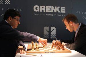 Anand tapte overraskende mot Meier