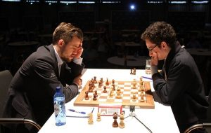 Det ble en ny remis mellom Carlsen og Caruana