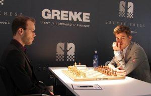 Carlsen vant et langt parti mot Georg Meier i sjette runde