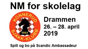 NM for skolelag 2019 i Drammen