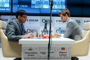 Carlsen slo Anand i andre runde av Shamkir Chess