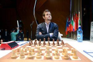 Carlsen spilte remis mot Radjabov i første runde av Shamkir Chess 2019