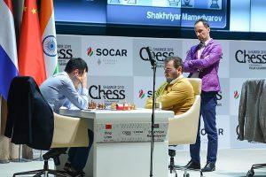 Topalov følger med på Ding Liren -Mamedyarov