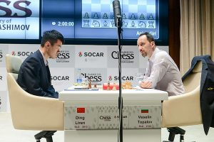 Liren Ding vant et langt sluttspill mot Topalov