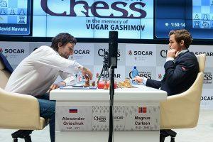 Også Grischuk gikk ned mot Carlsen i superform