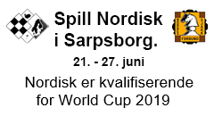 Nordisk mesterskap 2019 i Sarpsborg