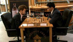 Carlsen slo Anand i tredje runde
