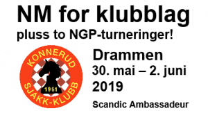 NM for klubblag i Drammen