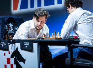 Nepomniachtchi leder i Kroatia etter tre runder