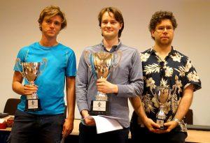 De tre beste i Nordisk mesterskap 2019