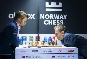 Carlsen med overbevisende seier mot Grischuk