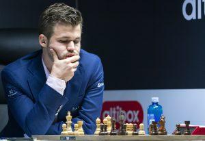 Bra start for Carlsen i Stavanger
