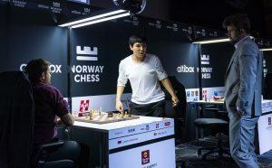 So ble mattet av Aronian i tidsnøden