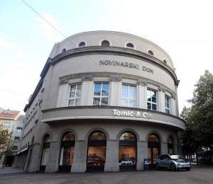 Spillestedet Novinarski Dom i Zagreb