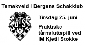 Temakveld i Bergen - Praktiske tårnsluttspill