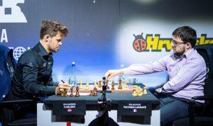 Carlsen avsluttet med seier mot Vachier-Lagrave