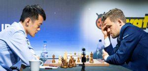 Carlsen slo Liren Ding for første gang i langsjakk