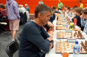 Petter Fossan er på vei mot  førsteplass i Senior 50+