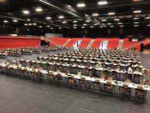 Spillelokalet Boligmappa Arena er klart til NM