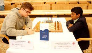 Praggnanandhaa berget remis mot Sevian og vant dermed turneringen
