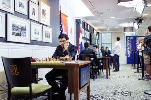 Anand har tatt ledelsen etter første runde av Sinquefield Cup