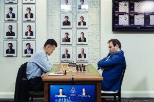 Liren Ding avsluttet med remis mot Mamedyarov