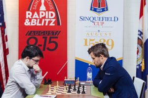 Carlsen slo Vachier-Lagrave i siste runde
