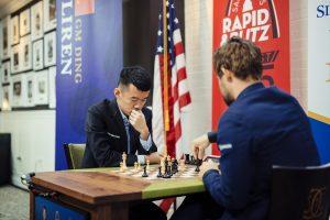 Liren Ding dominerte omspillet mot Carlsen og vant fortjent