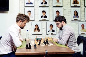 Carlsen slo Vachier-Lagrave, men deretter gikk det nedover