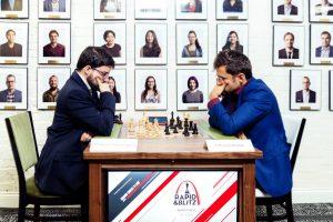 Vachier-Lagrave og Aronian leder etter hurtigsjakken i Saint Louis