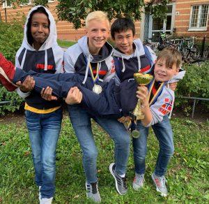 Jong fra Bærum tok sølv i Nordisk mesterskap for skolelag