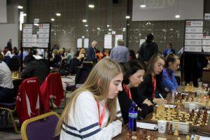 Det norske kvinnelaget tok sitt første lagpoeng i tredje runde