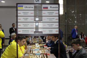 Ukraina mot Russland var rundens toppoppgjør