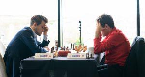 Carlsen avsluttet med remis mot Aronian