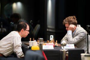 Carlsen måtte nøye seg med remis mot Kkasimdzhanov