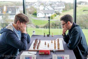 Caruana har tatt ledelsen etter sin seier mot Sevian
