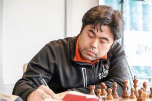 Nakamura er oppe på delt førsteplass