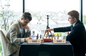 Carlsen måtte jobbe for halvpoenget mot Sarana