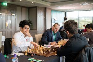 Tari spilte remis mot Aronian