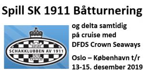 SK 1911 Båtturnering 2019