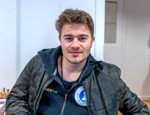 Sebastian Mihajlov tok andreplass i Uppsala