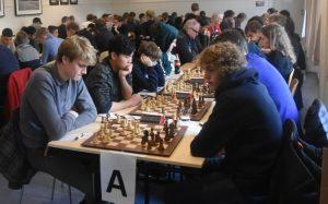 Haldorsen og Fossan tok de to første plassene i A-gruppen i Bergen