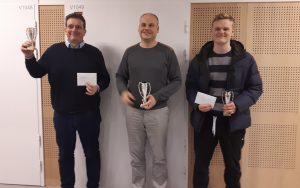 De tre beste i A-gruppen i Bodø