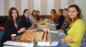 Fra toppkampen i kvinneklassen mellom Kyiv og Nona